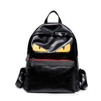 mochilas lindas de las mujeres al por mayor-Mochila de lujo Famous Designer Women Men Mochila de viaje Casual Student School Bags Adolescentes Moster de alta calidad Cute Bookbag