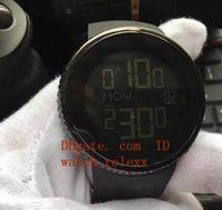Wholesale custom digital watch - BOX TOP Hot Sale Mens Digital display Diamond black Watch Mens Full Casing 114 Chronograph Row Custom Digital Mens Sport Styles quartz watch