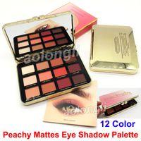 Wholesale Velvet Stockings - In stock Makeup Eye Just Peachy Mattes Eye Shadow Palette 12 Colors Eyeshadow velvet matte palette DHL Free Shipping