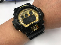 Wholesale Boys Red Waterproof Watches - Brand STUDENT boy girl watches Top Quality Men Sports watch 6900 Shock Digital Watch Fashion military watch 50M waterproof 2018 with box