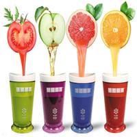 buz bardağı kalıpları toptan satış-Yaratıcı Milkshake Smoothie Slush Shake Maker Fincan Dondurma Kalıpları Popsicle Kalıpları Meyve Smoothie Krem Maker Araçları T3I0152
