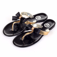 Wholesale Ladies Jelly Sandals - 2018Women Shoes Jelly Jelly Flip Flop Sandals Women Ladies Flat Shoes Women's Shoes Sapatos new Femininos