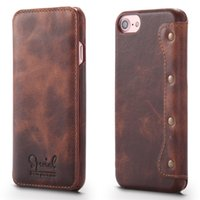 apple flip Canada - Luxury Brand Timecat Genuine Leather Case For Apple Iphone 6 6s 4 .7 Inch Flip Cover For Iphone 7 Phone Bag New Design