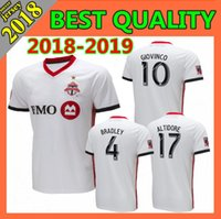 6063e19cb Wholesale MLS Toronto FC Soccer Jersey 2018 2019 BRADLEY MORGAN GIOVINCO  OSORIO ALTIDORE Customized Top Thailand Home Away Football Shirt