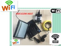 Wholesale ista software - newest ICOM NEXT WIFI For B MW new generation of ICOM A2 B C with HDD 2018.05 New Software ISTA D 4.10.13 P3.64 with Laptop X201T I7 4GB
