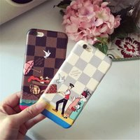 Wholesale Noble Style - 2018 Luxurious Fashion Noble Leather Phone Case For Apple iPhone X 8 8plus Phone case for iPhone 7 7plus 6 6s Plus Brand Style Gift Case