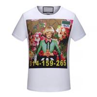 Venta al por mayor de Impresión De La Flor Tee Shirts - Comprar ... 975be05de2e