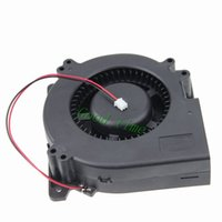 Wholesale 24v Brushless Dc Motors - blower fan Gdstime 2 Pieces 4.7 inch 120mm x 32mm Turbo Blower Fan 24V 2 Wire DC Brushless Motor Cooler Exhaust Cooling
