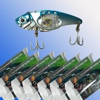 Wholesale sinking minnow lures online - Vibration sinking fishing lures LED fishing lures New Fishing Lure Baits Tackle Crankbaits Hooks Minnow Baits