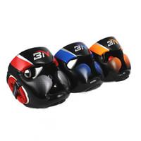Wholesale sparring gears resale online - MMA Muay Thai Twins Boxing Headgear Men Women Training Sparring In MMA TKD Fitness Equipment Grant Boxing Helmet Head Protector