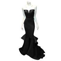 plus größe meerjungfrau schlitz abendkleid großhandel-Real Photo Marsala Burgundy Mermaid Prom Kleider Rüschen Kerb Front Slit Formal Abendkleider