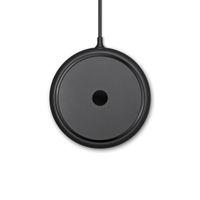 iphone forma nova venda por atacado-Liga de alumínio 2018 nova base de cor sólida em forma de pires voadores em forma de qi sem fio carregador de tipo conveniente carregador para o iphone x para samsung s8