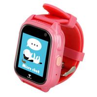 ingrosso schede di supporto per bambini-GENBOLI GPS Tracker Bambini Guarda Anti perso SOS Call Bambini Smart Watch Bambino Tracking Bracciale Smartwatch Supporto SIM Card