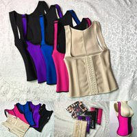 Wholesale deep purple underwear for sale - Group buy Latex Corset Waist Trainer Shapewear Sexy Body Shaper And Slimming Bustiers Modeling Belt Steampunk Corselet Gothic Underwear
