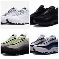 Wholesale authentic boots - Drop Shipping Wholesale Running Shoes Men Airs Cushion 95 OG Sneakers Boots Authentic 95s New Walking Discount Sports Shoes Size 36-46