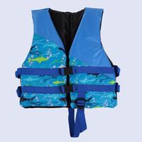 ingrosso giacca kayak-Bambini Bambini Nuoto Salvavita Salvagente Aiuti Dispositivo di galleggiamento Galleggiabilità kayak Canottaggio Gilet da surf Tuta di sopravvivenza di sicurezza