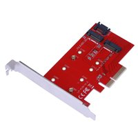 disco duro ssd para escritorio al por mayor-Tarjeta adaptadora de tarjeta de extensión de disco duro SSD PCI-E X4 a NGFF (M.2) de alta velocidad para PC Tarjeta de adaptador PCIE para computadora de escritorio