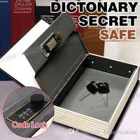 cerradura de joyería al por mayor-Diccionario Libro Secreto Oculto Seguridad Caja fuerte Dinero en efectivo Joyero Armario