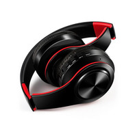 kulaklık pimleri toptan satış-Sıcak pin renkli kablosuz kulaklık kulaklık Bluetooth müzik hareket kartı genel kablosuz kulaklık ve dhl ücretsiz