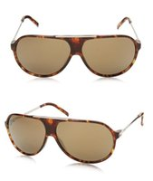 Wholesale Metal Sunglasses Big Box - summer hot sale Design Big frame Metal pilot Fashion men women sunglasses with origianal box case sport eyeglasses Classic jim good glasses