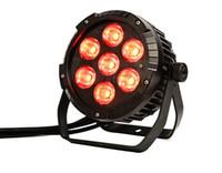 ingrosso scatole a parete esterne-impermeabile LED COB Par può 7 * 25W RGBWA 5in1 colore per illuminazione esterna spettacolo / Giardino led par LLFA