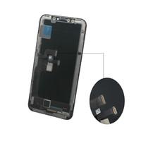 vodafone grátis venda por atacado-Para iPhone X 1: 1 Perfeitamente OEM Tela OLED classe A +++ Ecrã Toque digitador Assembléia Tela completa substituição de 5,8 polegadas LCD grátis DHL