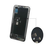 ingrosso pollici schermo lcd-Per iPhone X 1: 1 perfettamente OEM Grado A +++ Screen Display OLED touch Digitizer Assemblea di schermo di sostituzione completa di 5,8 pollici LCD DHL libero