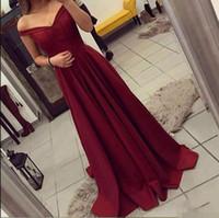 ingrosso vestito da promenade rosa bordeaux-Borgogna A Line Prom Dresses Abiti da festa sexy delle donne Abiti senza maniche Abiti da sera Abiti da ballo Abiti Plus Size Abiti occasioni speciali