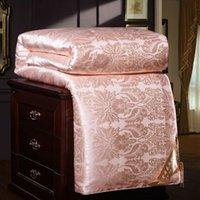 8b31f7e6b7 100% Luxury Chinese Silk Quilt Mulberry Comforter Duvet Quilt Blanket  Winter Summer Pure Silk Blanket Comforters King Queen Twin