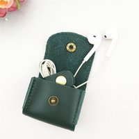 Wholesale skulls earphones for sale - Group buy High Quality Earphone Storage Carrying Bag headphone Earbud Case Cover For USB Cable Mini Zipper Key Coin Case Without Package