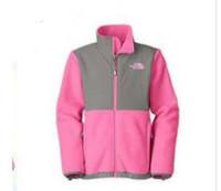 chaqueta de esqui xs al por mayor-Venta caliente al aire libre norte niños chaquetas de lana a prueba de viento térmica para senderismo camping esquí cara jacke XS-XXL