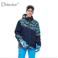 Wholesale-Detector 2016 Men Ski Jacket Impermeável Windproof Winter Ski Suit Snowboard Warm Snow Clothes