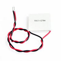 Wholesale Peltier Thermoelectric Cooling - Safe shipping 2 pieces lot TEC1-12706 Thermoelectric Cooler Peltier Plate TEC 12V New