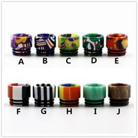 Wholesale candy drip tips for sale - Group buy 810 Epoxy Resin Drip Tips Wide Bore TFV8 Drip Tip Mouthpiece For TFV8 Big Baby TFV12 Prince Tank RDA with Candy Package