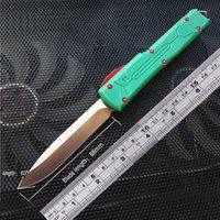 Wholesale hunter knives - Ultratech Bounty Hunter automatic knives VG10 knife auto knife stlye blade Combat Tactical Knife CNC VG10 steel T6 aluminu
