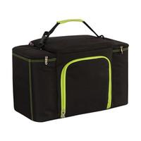 мешки для обледенения оптовых-27L супер большой емкости водонепроницаемый кулер сумка большой пикник обед коробка автомобиля изоляции прохладный мешок плеча пакет льда свежие сумочки