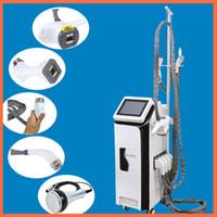 Wholesale infrared equipment - Vacuum Roller Slimming Machine velashape infrared slimming portable slimming equipment Radio frequency facial care vertical vela shape