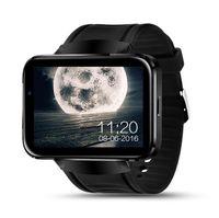 bluetooth daten großhandel-DM98 3G Smart-Uhr mit Anzeige der Nachrichteninhalte GSM-Anruf WCDMA-Smart-Android-System Bluetooth 4.0 Eignungsdaten, die Armbanduhr überwachen