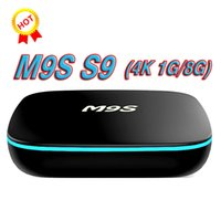 android kitkat box großhandel-2018 neue MXQ PRO M9S S9 RK3229 Android 7.1 Wifi Android TV-Box 1 GB 8 GB Viererkabelkern IPTV Kitkat WIFI Besseres X96 T95X T95N X92