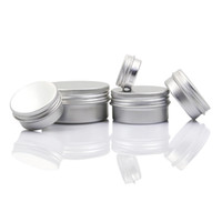 Wholesale tin caps for sale - Group buy Empty Aluminum Lip Balm Containers Cosmetic Cream Jars Tin Crafts Pot Bottle g