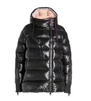 Wholesale france down jackets - MM Brand women jacket France Brand winter coat Female Clothes real thick coat collar hood down jacket.