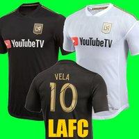 Wholesale Fc Soccer Jersey - Thailand quality 2018 Carlos Vela Los Angles FC Soccer Jerseys 18 19 Home away LAFC GABER ROSSI CIMAN ZIMMERMAN Black Football soccer Shirt