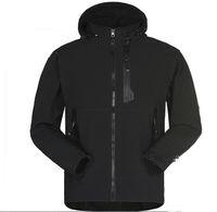 açık hava spor katları toptan satış-Erkek Su Geçirmez Nefes Softshell Ceket Erkekler Açık Havada Spor Palto Kadınlar Kayak Yürüyüş Rüzgar Geçirmez Kış Dış Giyim Yumuşak Kabuk ceket