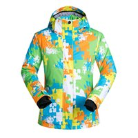 ingrosso super giacca impermeabile-Giacca da sci da donna di alta qualità da sci Giacca da neve Super caldo impermeabile e antivento da snowboard Outdoor Abbigliamento da sci di montagna