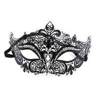 Wholesale sexy woman metallic costumes resale online - Hanzi_masks Floral Sexy Lady Masque Cutout Halloween Mask Masquerade Masks Party Fancy Dress Costume Blindfold Mask