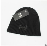 Wholesale cheap halloween hats online - Cheap Unisex Spring winter men fashion brand car Hart Women knitted hat casual Hip Hop outdoor warm caps female gorros Beanies