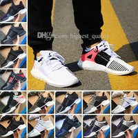Wholesale Womens Leather Shoes Sale - Wholedale Equipment EQT Support ADV Boost Sock Primeknit Zebra White Black mens running shoes for Womens Mens eqt shoes for sale Eur 36-45
