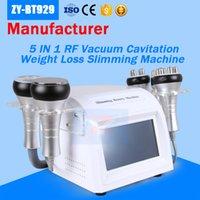 machines de cavitation achat en gros de-La cavitation de station thermale de beauté de bons résultats amincissant la machine / machine ultrasonique de levage de visage / cavitation de rf avec l'approbation de la CE