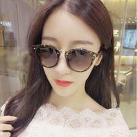 fashion sunglasses Canada - New Fashion round sunglasses for women classic Europe and the United States trend of sunglasses retro temperament Glasses