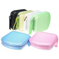Wholesale flat dvd - Fashion Car Auto CD DVD Disk Card Visor Case Holder Clipper Organizer Bag 7 Colors 40 CDs Inside Carry Case